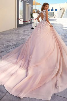 180.00  Romantic Tulle   Taffeta Scoop Neckline A-Line Wedding Dresses  With 3D Beaded Handmade Flowers 8298e37263fe