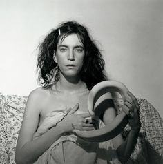 """Patti Smith"", 1978 by Robert Mapplethorpe"