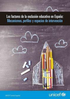Portada informe Factores de exclusión educativa