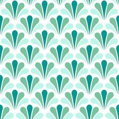 splash 1in3 - surf fabric by sef on Spoonflower - custom fabric