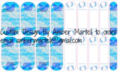 Custom nail wrap - Infant awareness Baby Boy - to order email amberjmartell@gmail.com
