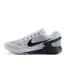 6a99fdd919360 Nike Lunarglide 7 White Black Running shoes