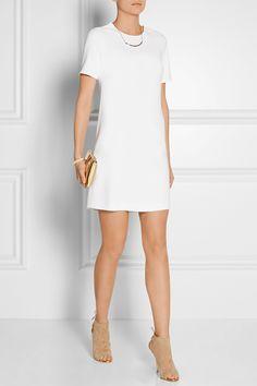 Victor Alfaro|Stretch-cady mini dress|NET-A-PORTER.COM