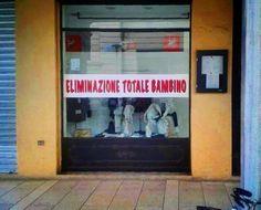 saldi in Italia: eliminazione totale bambino (italian sales: total child annihilation)