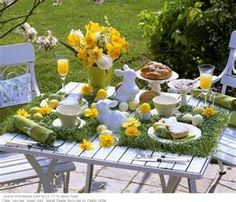 Cute spring table