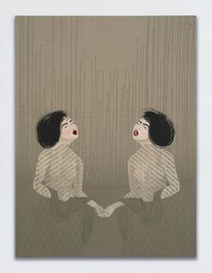 The Pivotal Role That Women Have Played in Surrealism Hayv Kahraman, T25 and T26, 2017. © Hayv Kahraman. Courtesy of the artist, Jack Shainman Gallery, and White Cube.