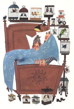 Fiep Westendorp (Pluck by Annie M. People Illustration, Children's Book Illustration, Digital Illustration, Old Children's Books, Prop Design, Art Studios, Character Design, Art Gallery, Corian