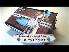 DIY [Tutorial #4] ~*~ Be my Gorjuss ~*~ Mini Album [with english sub] - YouTube