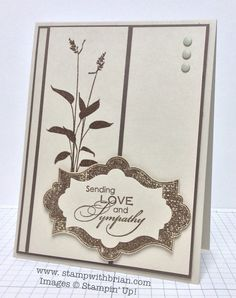 Love & Sympathy, Everything Eleanor, World of Dreams, Stampin' Up!, Brian King, FabFri45