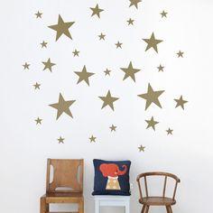 Ferm Living Gold Stars Wall Stickers