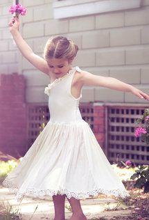 Dollcake Oh So Girly - Broken Teacup Dress w/ Removeable Rose Waist Belt | One Good Thread