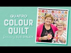 English Paper Piecing with Jenny Doan & Sue Daley - The Quatro Colour Quilt | Missouri Star Quilt Company - YouTube | Bloglovin'