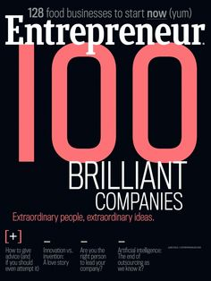 Entrepreneur magazine is a monthly business magazine that is considered the authority for small business owners starting, managing, and growing successful small businesses.
