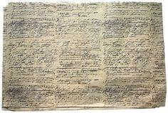 John Derian Script Tissue Paper (480 sheets)