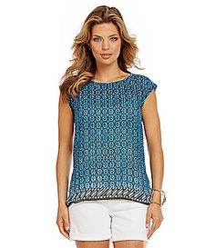 Two By Vince Camuto Splitback Top #Dillards