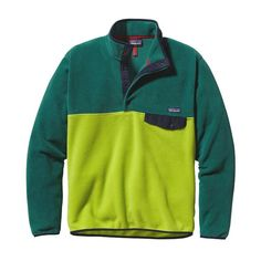 A lighter version of our classic Snap-T® Pullover, the Lightweight Synchilla® Snap-T® Pullover is made of warm and durable midweight polyester fleece.