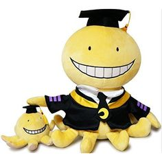Assassination Classroom Cute Plush Dolls Korosensei   Octopus Stuffed Toys Doll 2 Pcs by Cordelia ** Check this awesome product by going to the link at the image. (This is an affiliate link) #PlushFigures