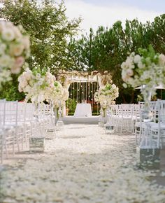 These stunning wedding ceremonies are anything but average!!! Whether you choose a classic all-white palette or you decide to incorporate your color scheme into your wedding ceremony decor, these wedding ceremony ideas will inspire you to tie-the-knot with style and createa celebration worthy of a photo shoot. ABOVE IMAGE CREDITS {Photographer: Ira Lippke Studios // read more...