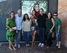 Andrea Dantas, Ancelmo Gois, Bia Rónai, Patrícia Poeta,  Beto Bardawil, Marina Caruso e Luiz Valle (Foto: Reginaldo Galvão)