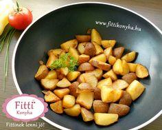 Sült krumpli - Wok recept! - Szilvi ÍzVilág