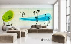 "Wallpaper ""Oasis"" • WOO Design"