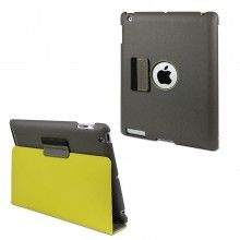 Funda New iPad iPad Retina Muvit - Fold Gris Amarilla Función Soporte ON OFF  $ 489.18