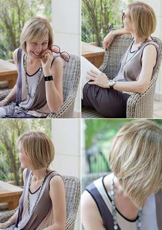 Short bob haircuts 2013 -- this would be really short for me but it looks like such an easy cut to style