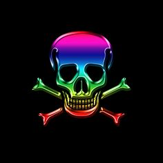 Jolly Roger Rainbow by Andrew Fare