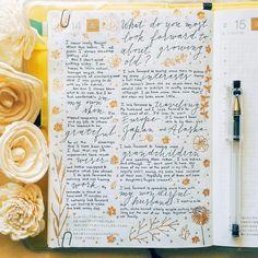 The Journal Diaries- Gert's Hobonichi / Seaweed Kisses