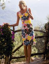 I love the colors, I love this dress - Boden