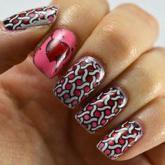 Polished Pooka: AIS: Valentine's Day Nails