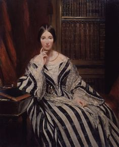1840 Portrait d'Angela Georgina Burdett-Coutts, Baroness Burdett-Coutts unknown artist. Fashion History, Fashion Art, Diego Velazquez, Historical Fiction Authors, Victorian Paintings, 19th Century Fashion, National Portrait Gallery, Look Vintage, Costumes