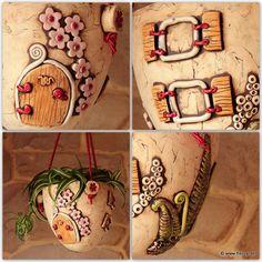 Kreativwerkstatt-Fleury: Kreative Keramik: Damit endlich der Frühling kommt....