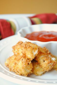 Homemade mozzarella sticks.  @Courtney Dutton @Catie Anne  this would save us so much money.  And possibly put Sonic out of business