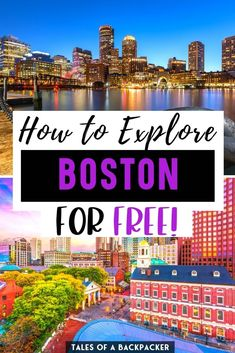 Free Things to do in Boston Massachusetts - I asked Boston expert Krystianna from Volumes & Voyages to share her top tips for visiting Boston on a budget. She put together this list of fabulous free things to do in Boston for you to enjoy! | Boston for Free | Free Activities in Boston USA | visit Boston for cheap | Cheap Things to do in Boston MA