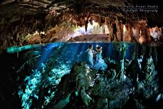 When you are in the right location with an amazing couple! #TrashTheDress #Cenote #underwaterphotography
