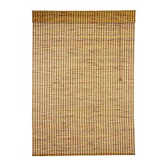 "Designview Bamboo Roman Shade  In Natural Kiawah, 52"" W × 72"" H; $46.97; homedepot.com"
