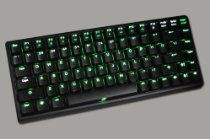 Keycool offer New Keycool 84 Keys Portable Mechanical Gaming Keyboard Cherry Mx Switches (BLUE/Purple/Pink/GREEN/YELLOW/WHITE LED Backlight Available) (BLUE switches+Black body+Green LED Partitioning personality backlight+Breathing light). This awesome product currently limited units, you can buy it now for  , You save - New