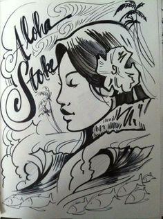 Aloha Stoke #Art