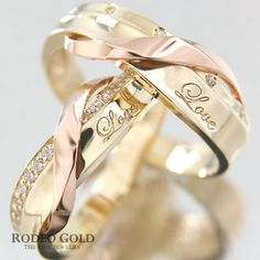 soooo Pretty!!! Gold engagement rings TCR17567