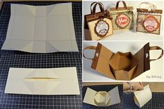Mini Cardboard Bag for Presents - DIY