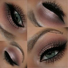 Eyeshadow - Naked 3 Palette   Brows - Anastasia BH Dipbrow Pomades in Dark Brown and Blonde              theamazingworldofj instagram