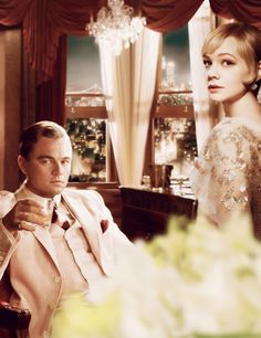 Leonard DiCaprio and Carrey Mulligan, The Great Gatsby