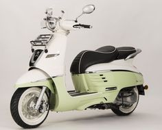 The adorable Peugeot Django will be available from next summer in versions 50 and 125 cm3.