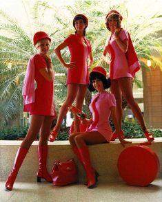 Hôtesses de l'air de la Pacific Southwest AIRLINES, années 1960  #histoire