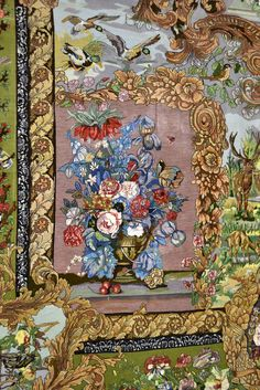 Bagher Naghashpour Silk Persian Rug - Item# EK-1000 Size: 200 x 330 (cm)      6' 6 x 10' 9 (ft) Origin: Persian, Tabriz Foundation: Silk Material: Wool & Silk Weave: 100% Hand Woven Age: Vintage KPSI: 750