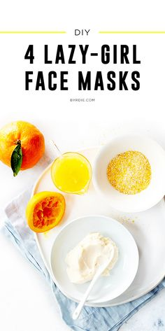 4 DIY face masks that are perfect for lazy girls