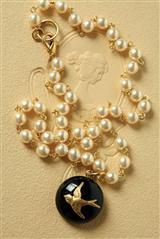FREEFALL PEARL NECKLACE victoriantrading.com