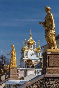 Gold Peterhof! Russia!