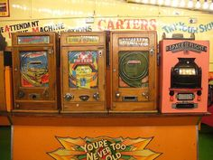 old-style penny arcade by so now, then., via Flickr